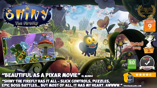 Shiny The Firefly v1.1.1 [Full][.APK][SD DATA][Android]